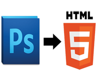 PSD to HTML Designing Services USA Los Angeles